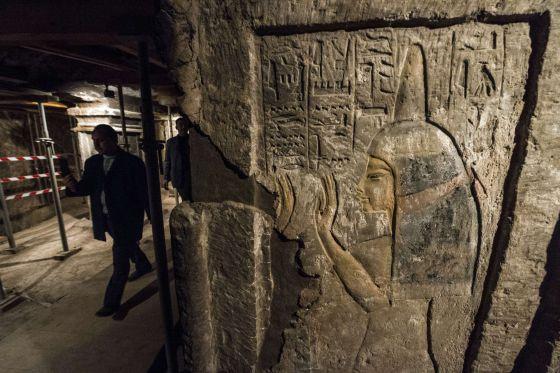 Egipto inaugura la tumba de la nodriza de Tutankamón